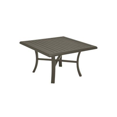 Tropitone Banchetto Chat Table Frame Color Solid Wood Side
