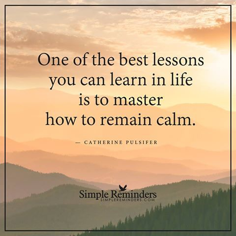 Quotes About Learning Lessons Adorable Remain Calm  Thought Provoking  Pinterest  Remain Calm Simple .
