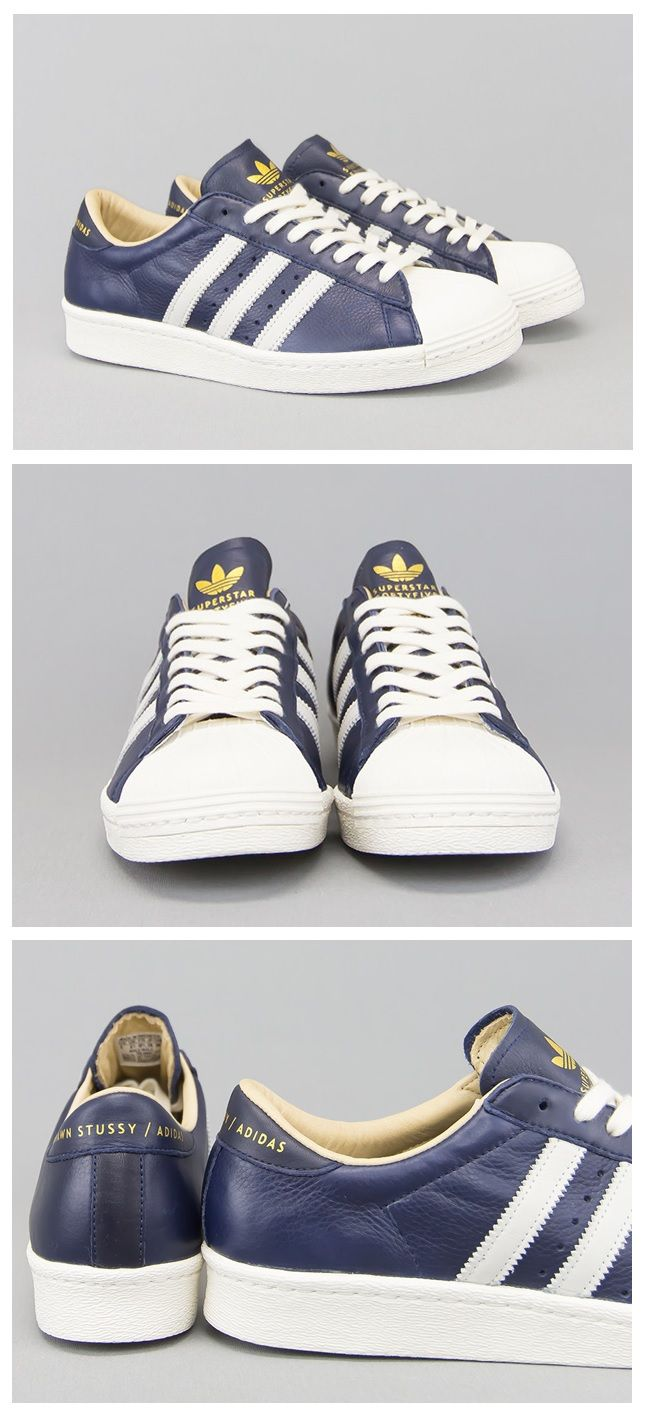 Shaun Stussy x adidas adidas adidas Originals Superstar 80's Baskets | Service Supremacy  19ed5c