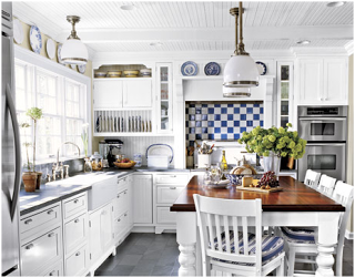 What should you do with the awkward space above kitchen cabinets? | Essence Design Studios, LLC