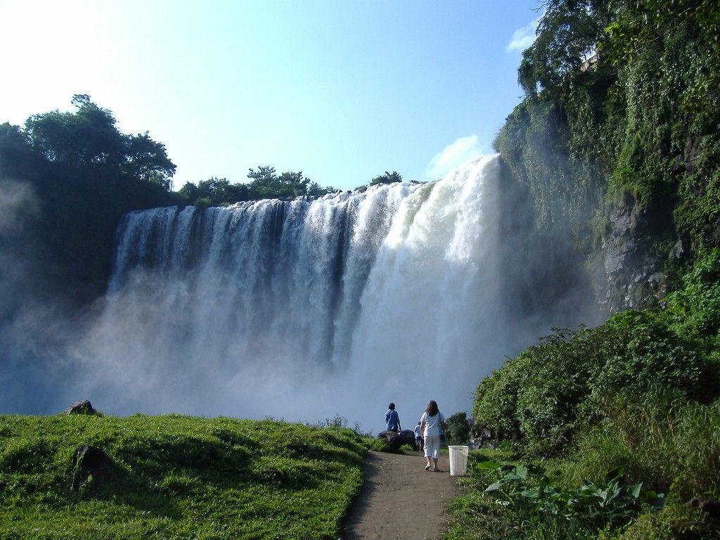 Salto de Eyipantla.