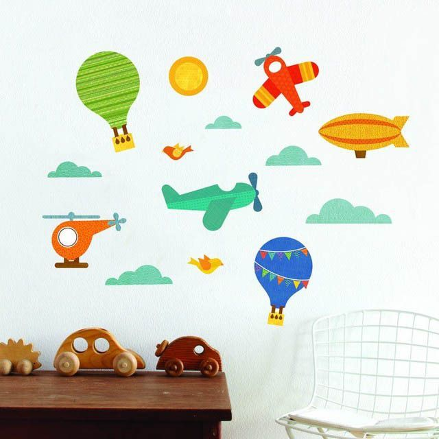 In The Sky Wall Decals