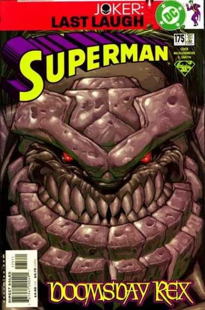 Doomsday - Joker - Doomsday Rex - Dc - Boomsday Rex - Ed McGuinness