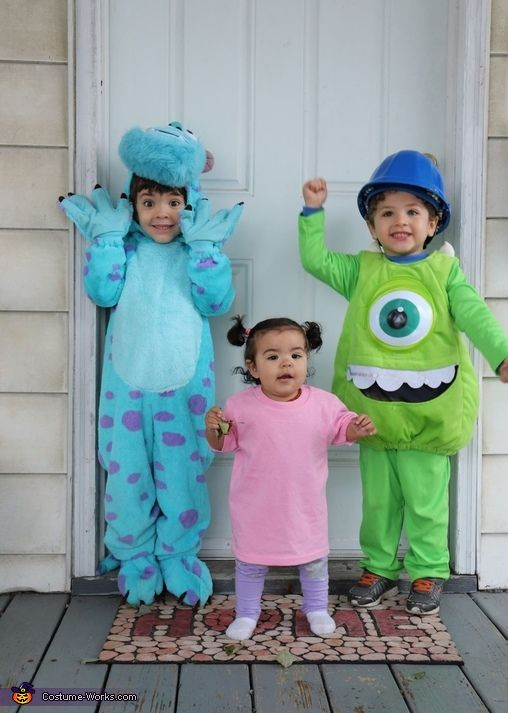 Monsters Inc - Halloween Costume Contest at Costum
