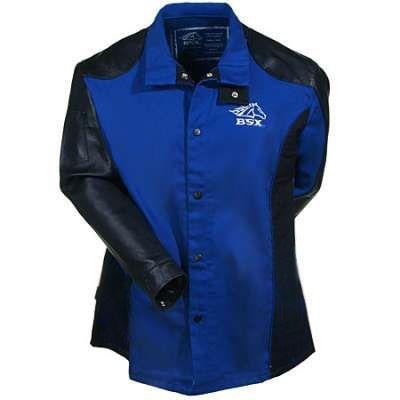 1bc08e443f2e Black Stallion Jackets  Men s Blue BXRB9C PS Flame-Resistant Welding ...