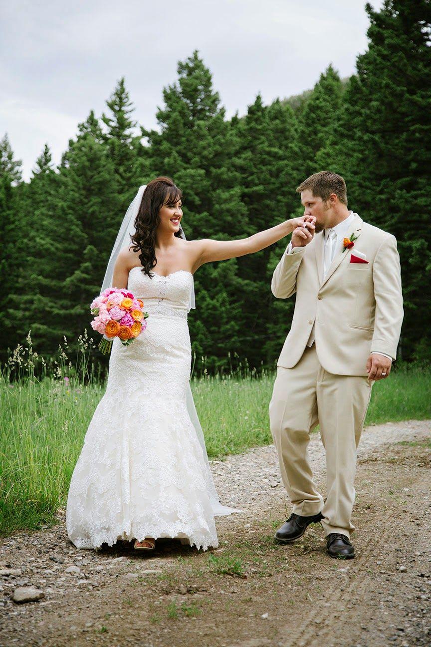 Montana Bride Featured Wedding Jenna Bridger Bozeman Mt