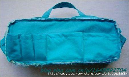 Patchwork Bag Tutorial. Bag for needlework