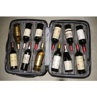 Vingardevalise Grande 05 Wine Luggage For Airplane Travel