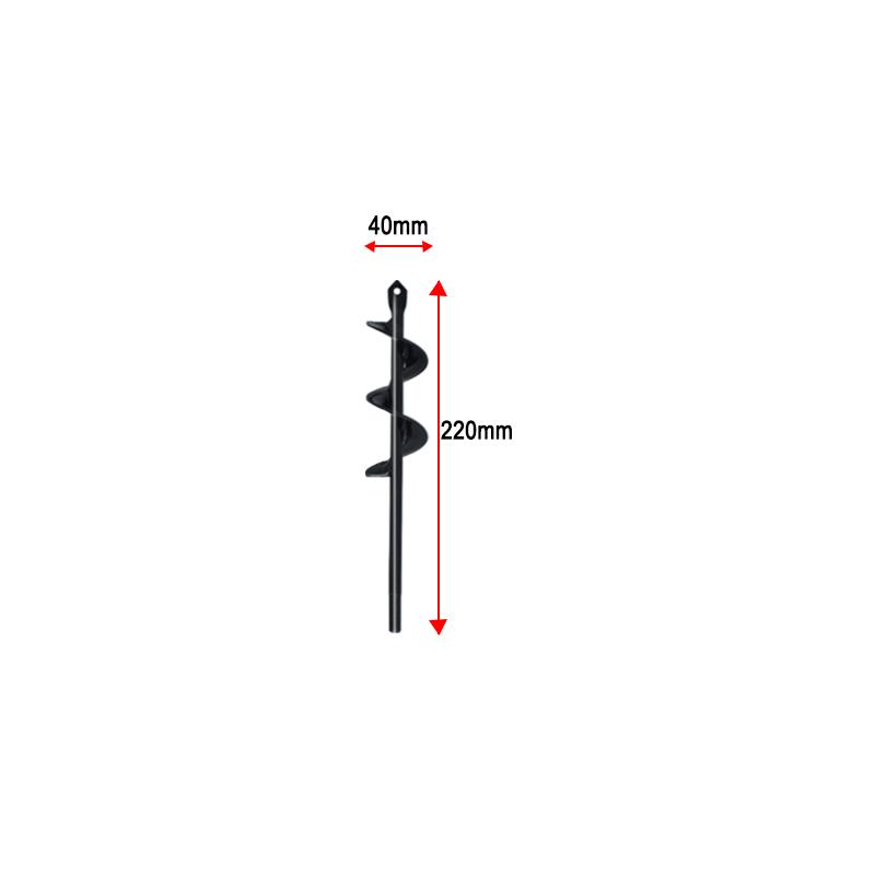 Fence Post Auger Bit Size