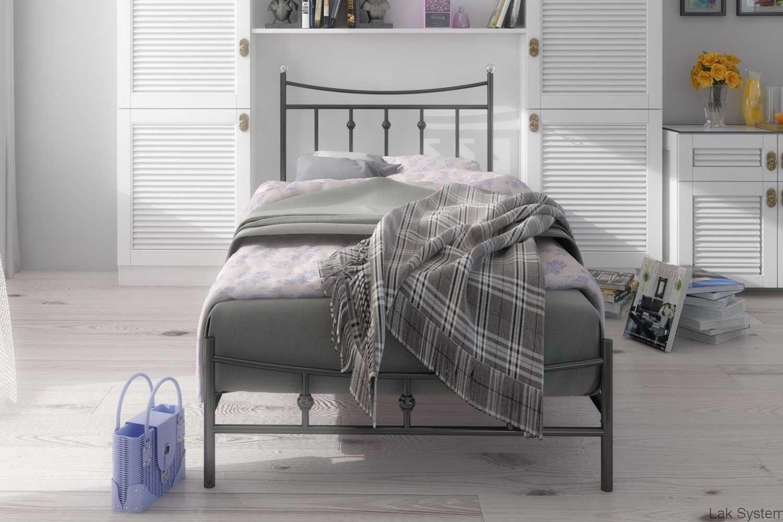 łóżko Podwójne 140x200 Wzór 26 J łóżka I Sofy Metalowe W