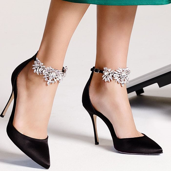 "acc67745 Manolo Blahnik ""Sicariata"" Embellished Pump 