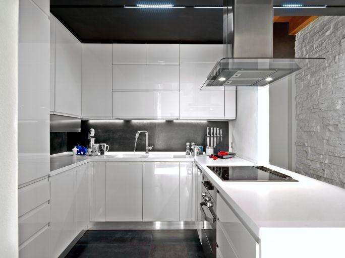 55 Modern Kitchen Design Ideas Photos Moderne Weisse Kuchen