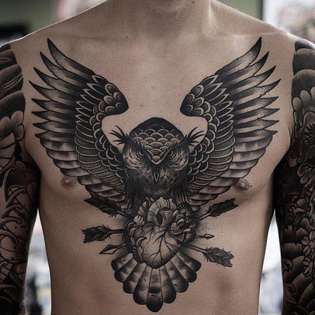 Neo Traditional Owl On Instagram Tatuagem De Manga Jovens Tatuados Tinta Para Tatuagem