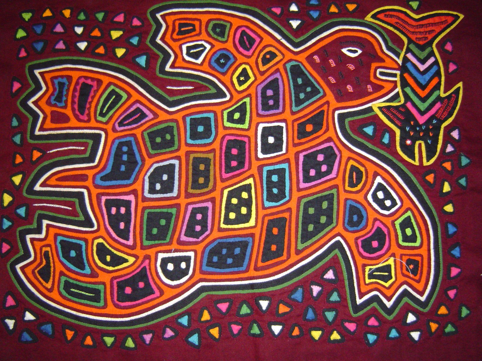 Arte Mola - Arte Indígena Colombiano, Imprime tu afiche con ...