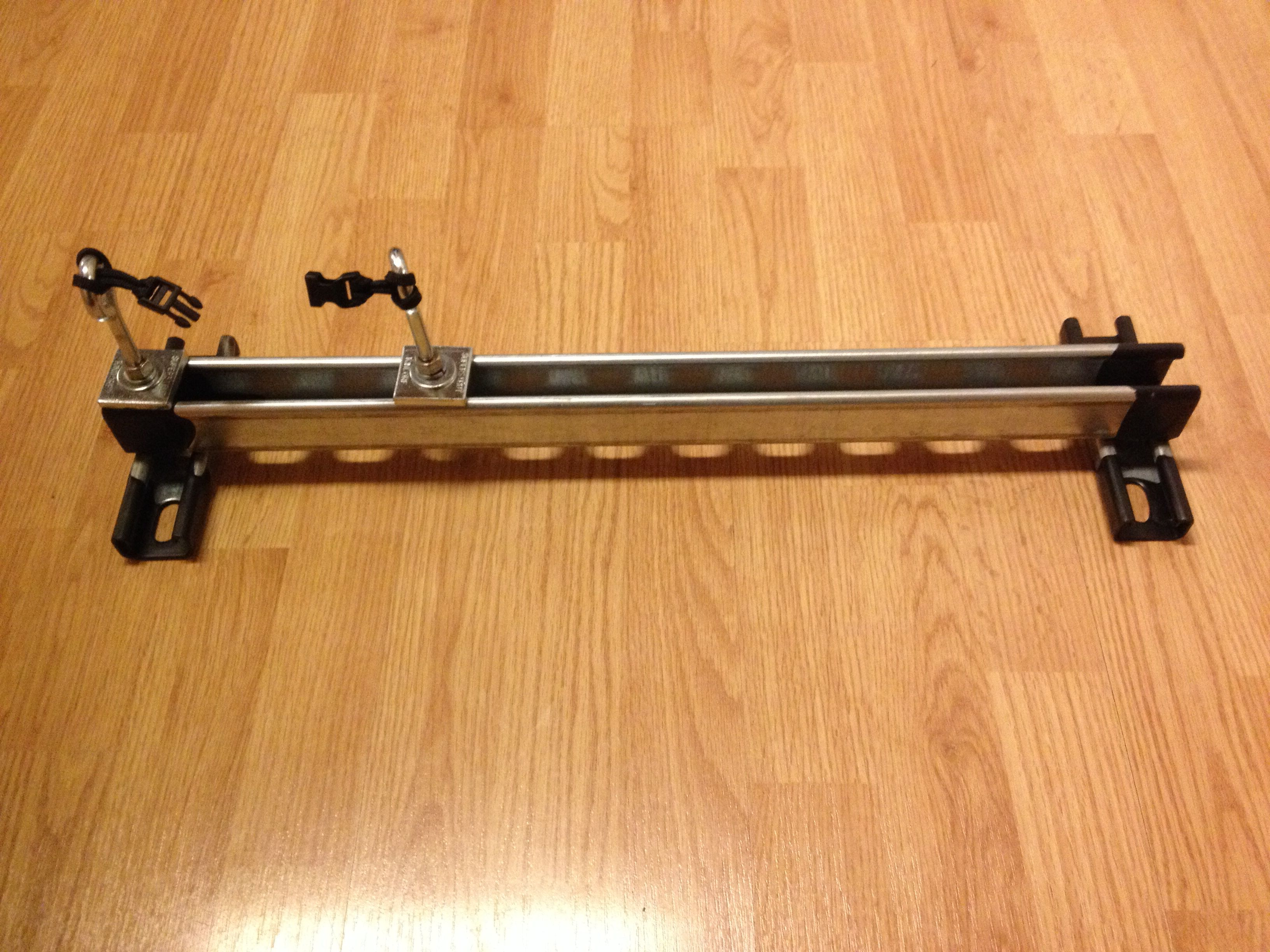 Paracord Jig From Unistrut With Images Paracord Jig Paracord Diy
