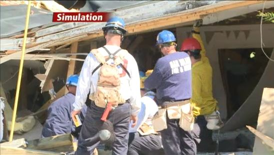 Brunswick Co. responders carry out disaster training in abandoned warehouse - http://charlotte.citylocalbuzz.com/brunswick-co-responders-carry-out-disaster-training-in-abandoned-warehouse/