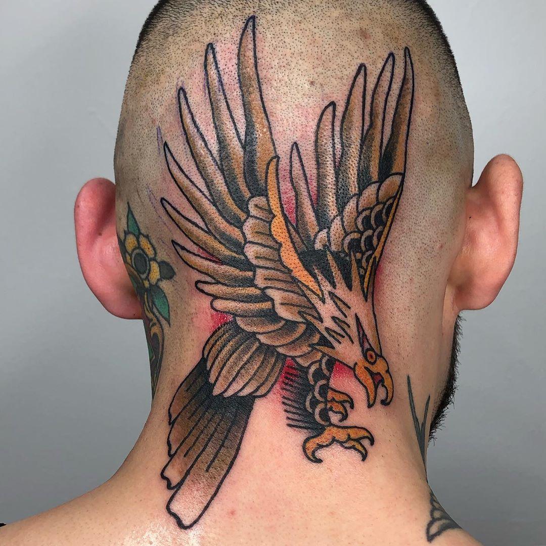 15++ Astonishing Traditional eagle shoulder tattoo image ideas