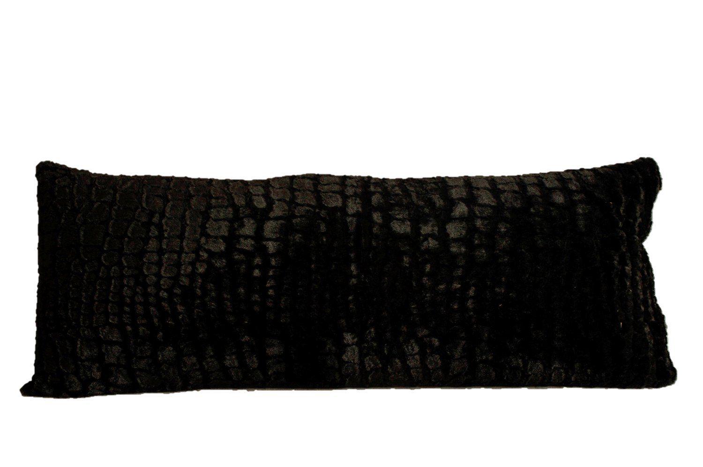 amazon com plush body pillow black