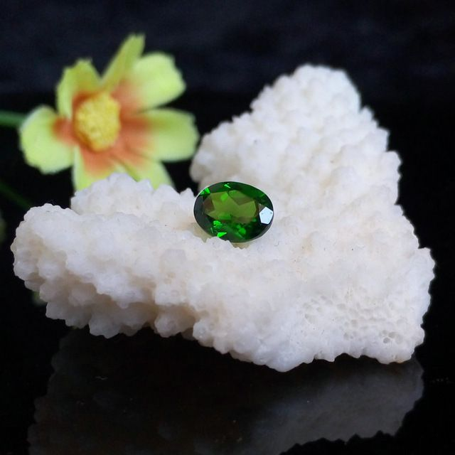 Excellent Natural Diopside Loose Stone Used For Wedding