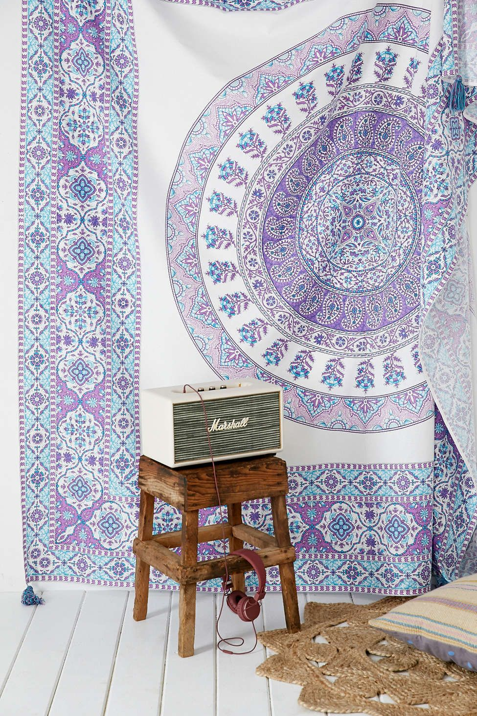 Urban Outfitters Tapestry Purple
