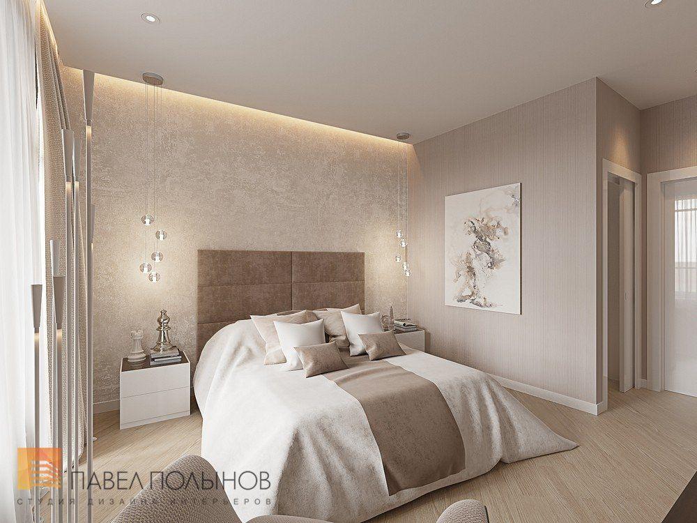 Фото интерьер спальни из проекта «Интерьер однокомнатной ...