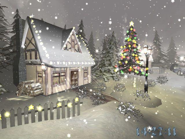 Feel The Magic Of Christmas With Christmas Time 3d Screensaver Christmas Scenes Christmas Christmas Time