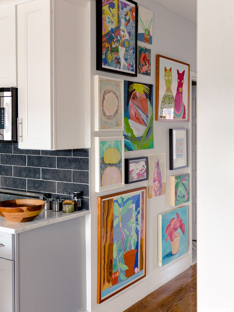 Buried Diamond Creator Colorful Brooklyn Home Tour Kitchen Decor