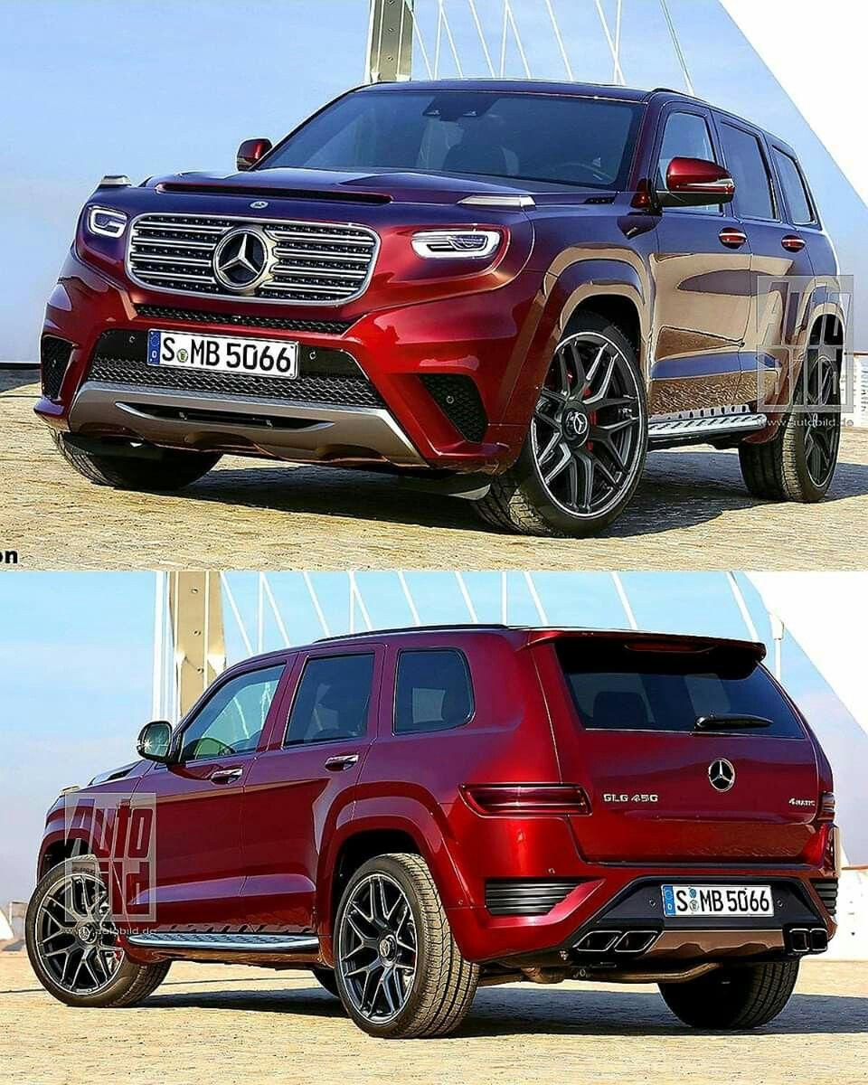 2021 Mersedes Benz Glg Rendering Mercedes Suv Mercedes Car Suv Cars