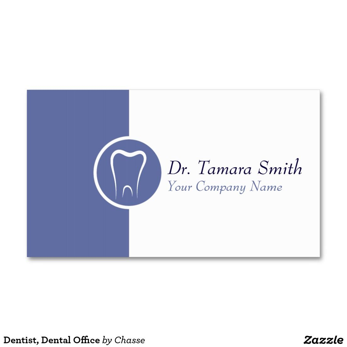 Dentist dental office business card visitin card pinterest dentist dental office double sided standard business cards pack of 100 accmission Choice Image