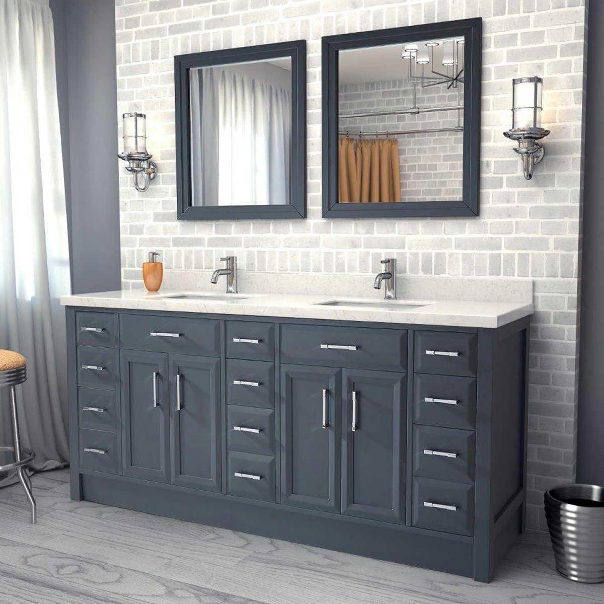 Bathroom Exquisite Best  Double Sink Vanity Ideas On Pinterest