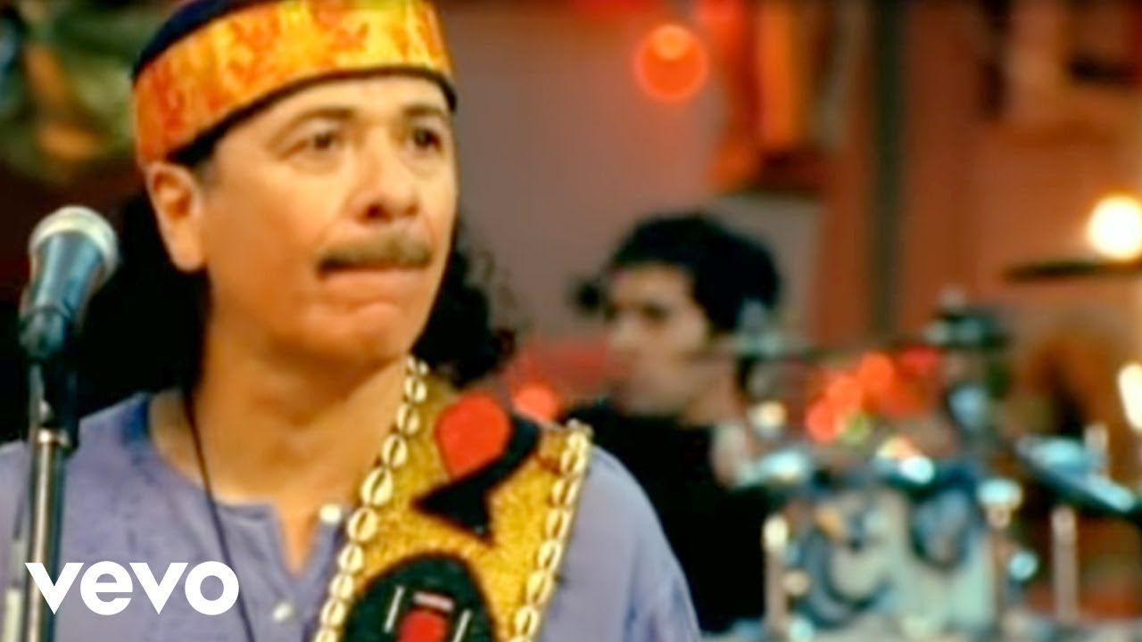 Santana Corazon Espinado Ft Mana Official Video Youtube Música Latina Musica Vivo Videos De Musica