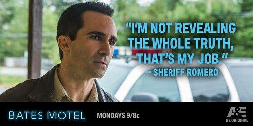 Sheriff Romero- Bates Motel