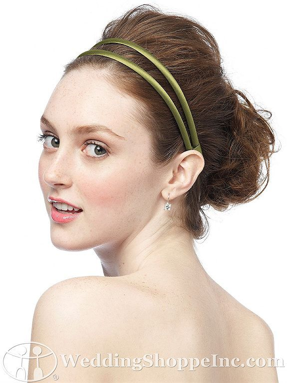 Dessy Bridesmaid Accessories Double Headband In Matte Satin MS DHBAND From The Wedding Shoppe