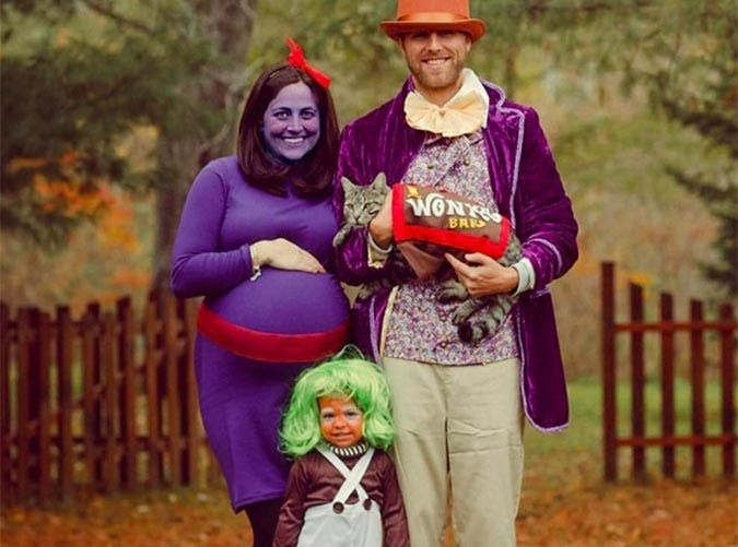 30 Halloween Costumes Your Whole Family Can Get in On Willy wonka - halloween costume ideas for family