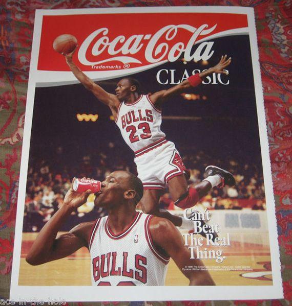 446ffeb2a559d4 Vintage Michael Jordan Ad Posters - SneakerNews.com
