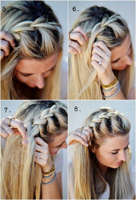 Peinados Con Trenzas Paso A Paso Buscar Con Google Peinados Para