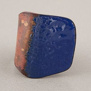 Sibilia Mosaic Ring - Blue | Rain Collection