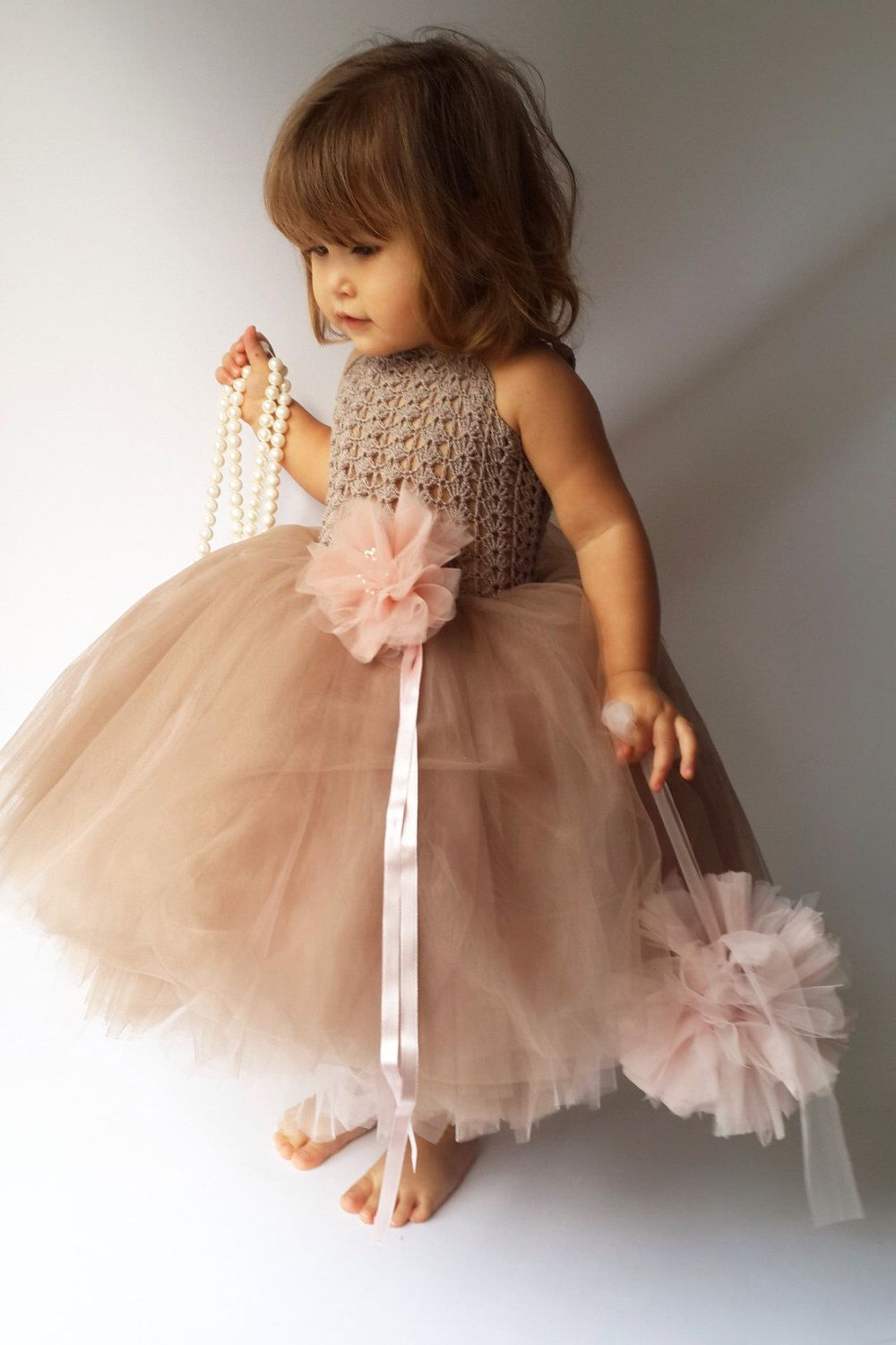 a6b10a4d1f05 Ankle Length Double Layered Puffy Tutu Dress. Any custom color ...