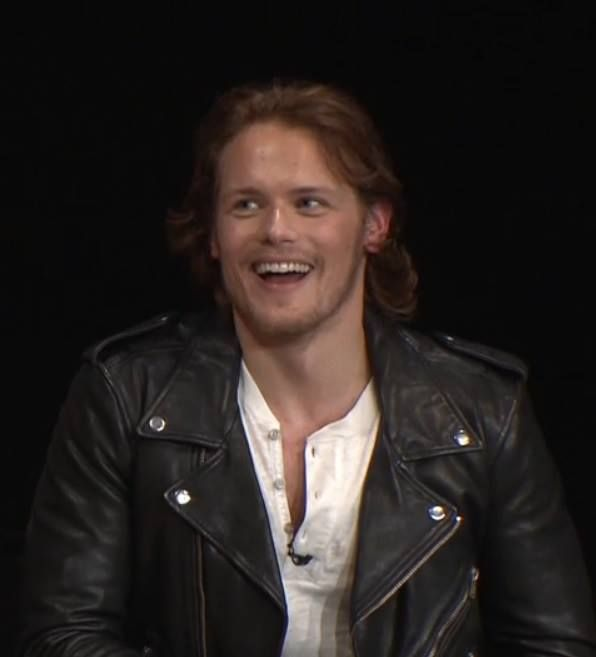 Sam in black leather!!! *sigh*