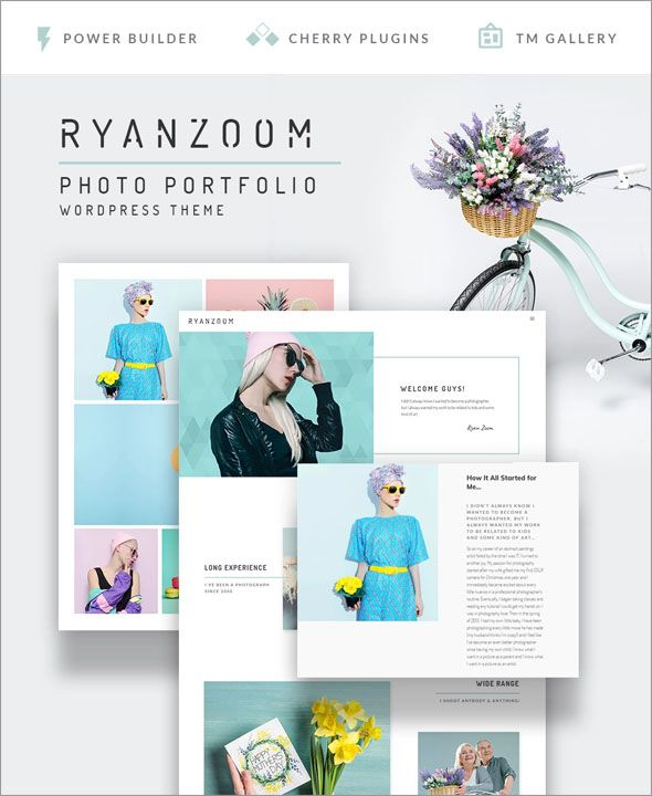 Ready to Use Creative Photography WordPress Theme Collections (2018 ...