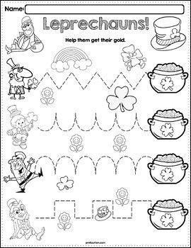 Leprechaun Worksheet Preschool. Leprechaun. Best Free