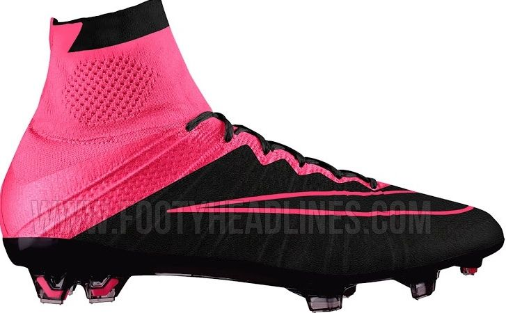 new arrival e422f 5305f Nike Mercurial Superfly 2015 pink black boots