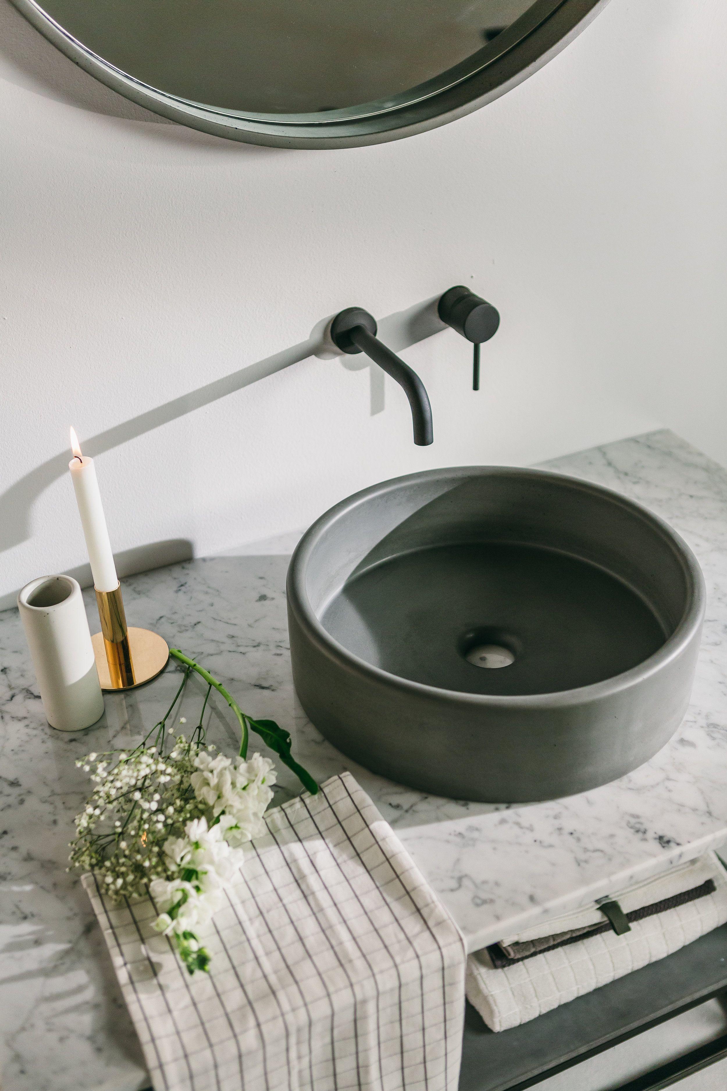 Nood Photoshoot 150 Jpg Concrete Bathroom Bathroom Sink Bowls Small Bathroom Sinks