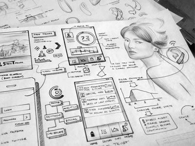 Inspiring UI Wireframe Sketches   Wireframe  Sketches and Ui ux Inspiring UI Wireframe Sketches