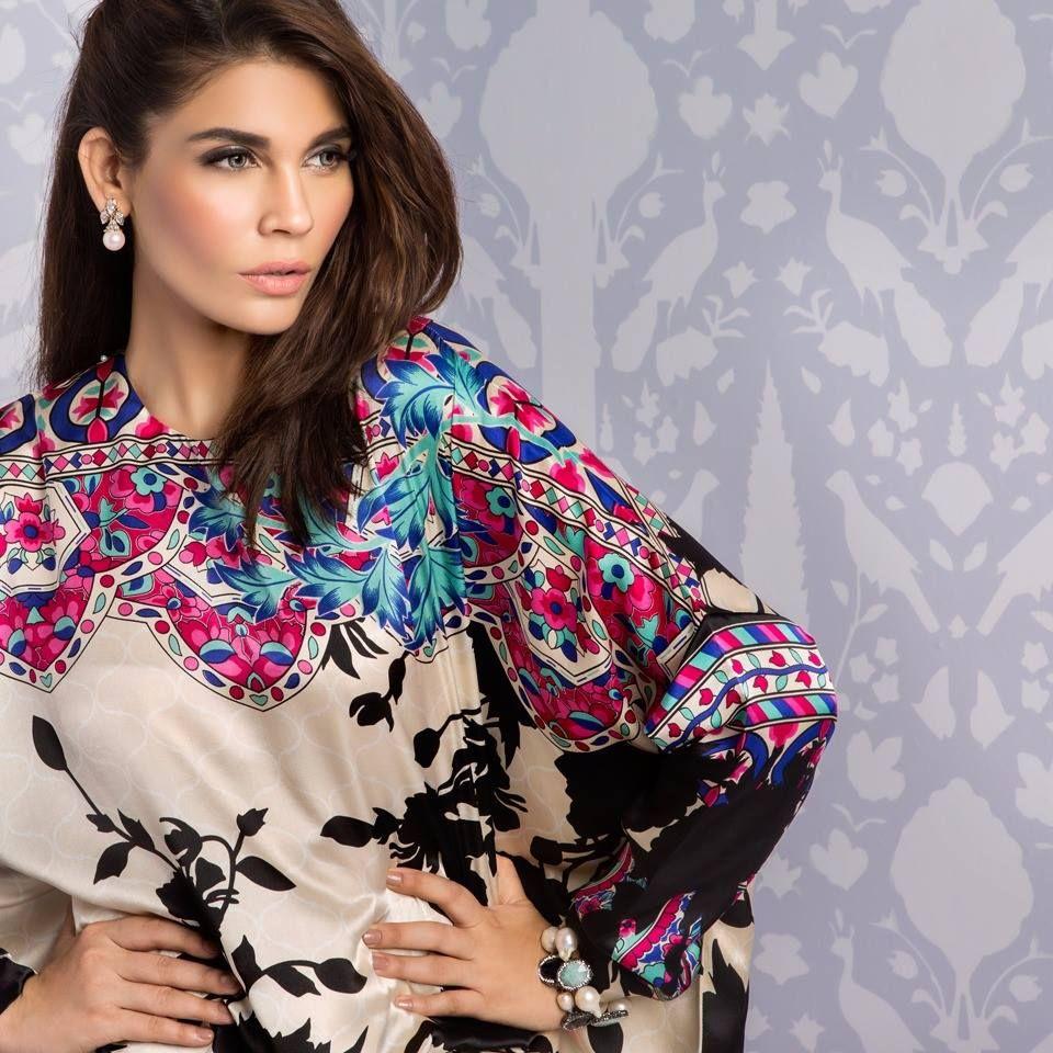 Sana Safinaz Unstitched Silk Collection Eid Catalog | #Aeisha ...