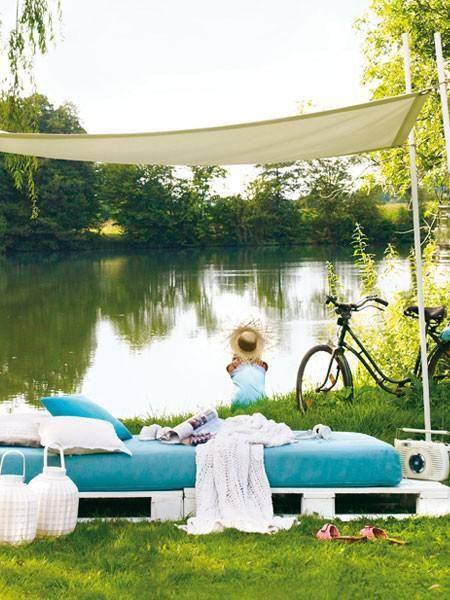 diy gartenm bel selber machen himmelbett sonnensegel und s e tr ume. Black Bedroom Furniture Sets. Home Design Ideas