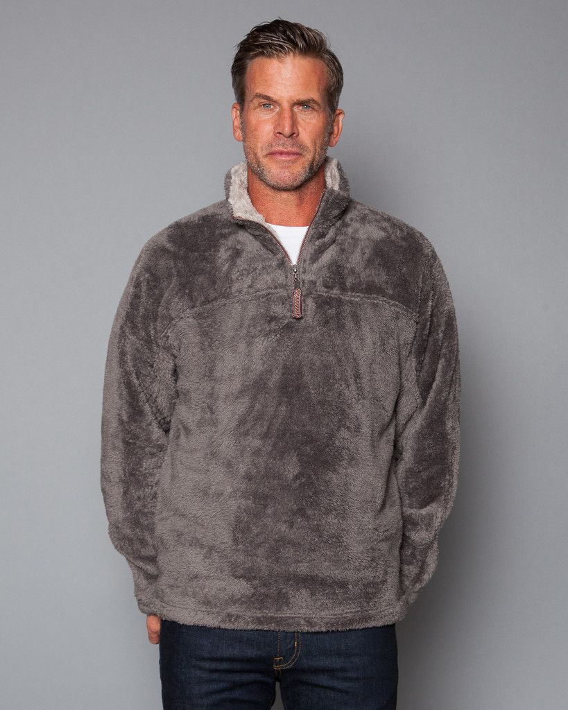 Double Plush 1/4 Zip Pullover | Plush, True grit and Pullover