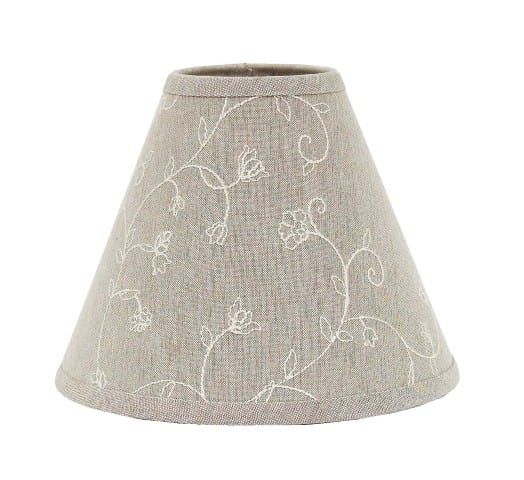 b250c13fc347 Taupe Candlewicking Regular Clip Lampshade 10 in 2019 | Gray Haven ...