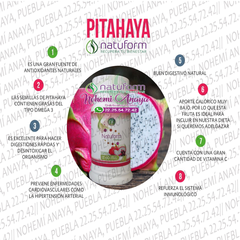 Pitahaya sirve para bajar de peso