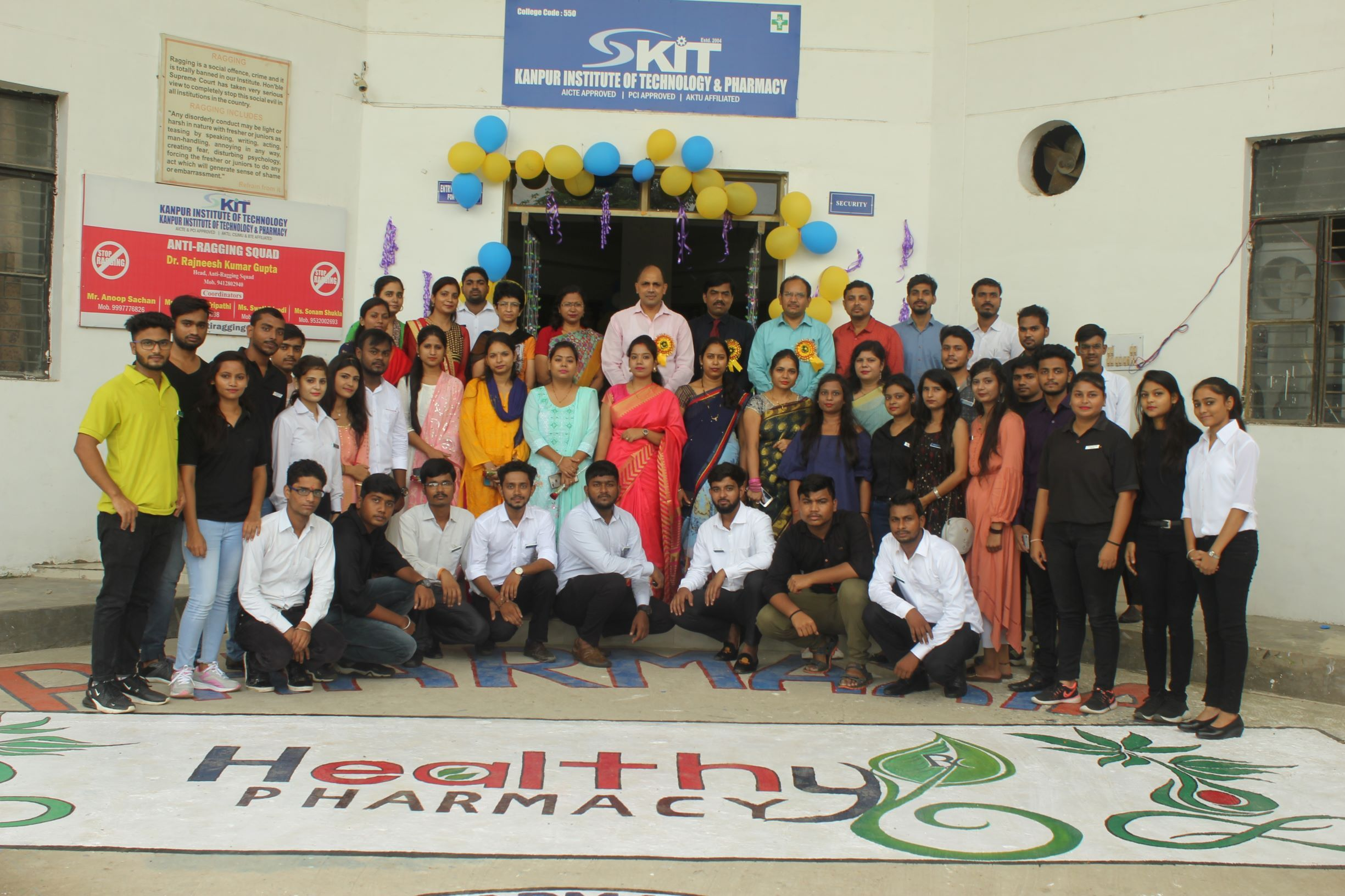 Kanpur Institute of Technology and Pharmacy celebrated
